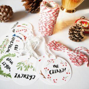 Bardzo świąteczny zestaw do pakowania prezentów